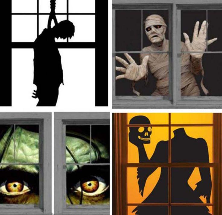 Faire peur à la nuit tombée avec ces stickers spécialement conçus pour les fenêtres