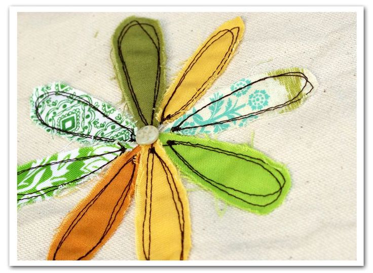 From Rebecca Sower:  I've been stitching some free-motion flowers for journals in progress.  And thought I would share the steps for those who might be interested...