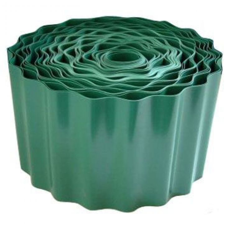 Durable Plastic Lawn Edging   9m X 90mm