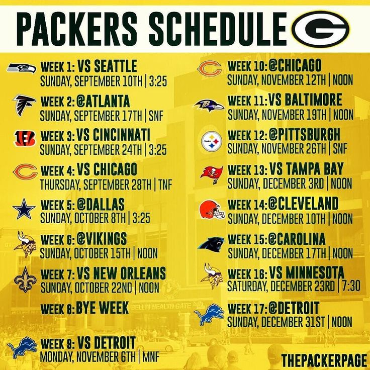 It is an image of Decisive Packers Printable Schedule