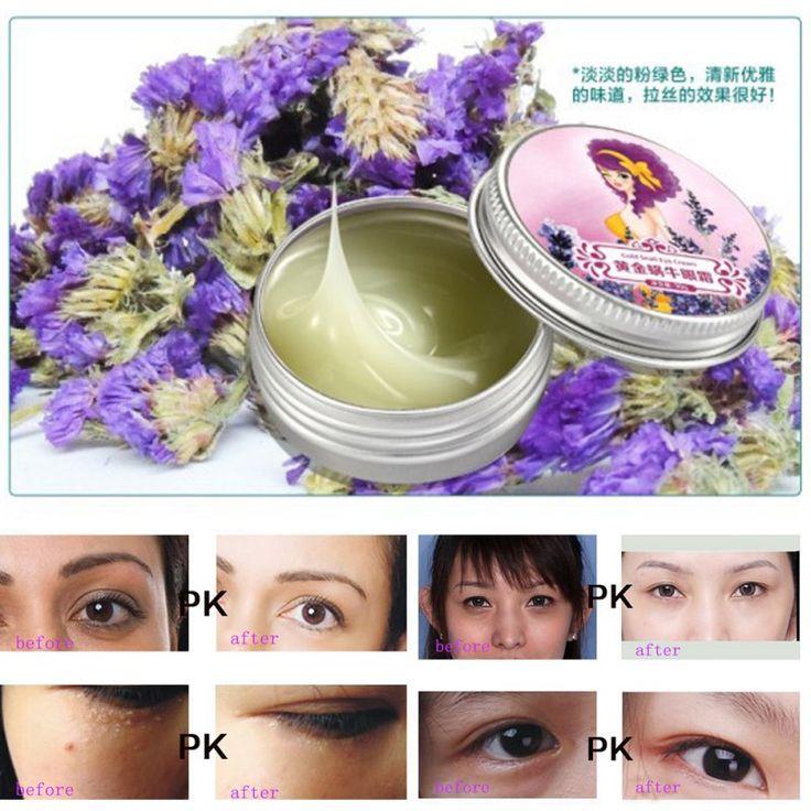 Natural Snail Anti Dark Circles Anti Puffiness Wrinkles Repair Eye Cream TF