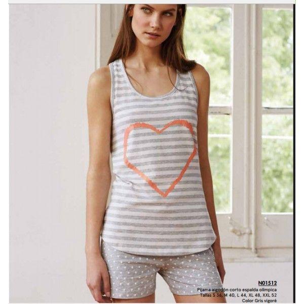 Pijama algodón Promise - RopaInterioryCalcetines