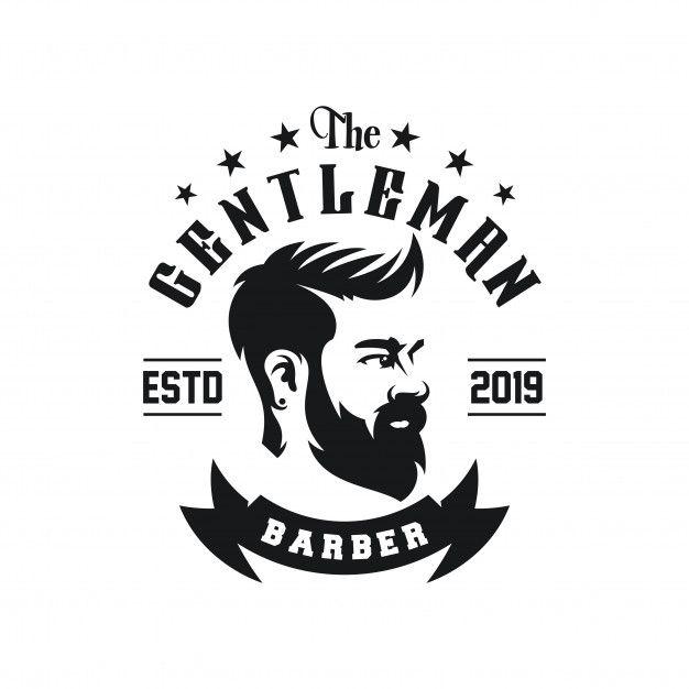 Awesome Barbershop Logo Design Vector Barbershop Design Barber Logo Logo Design