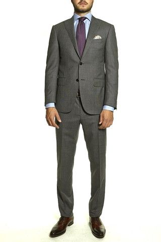 Corneliani Men's Grey Suit | The Helm Clothing | Edmonton, AB