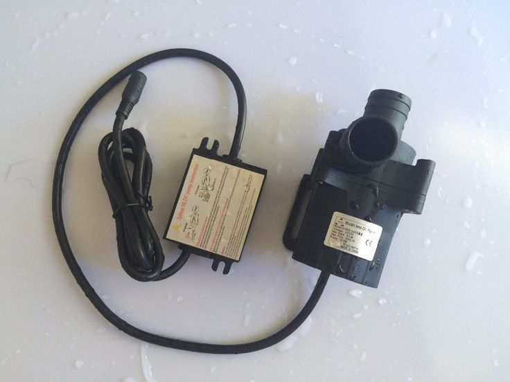 2pcs/ Lot 5-12V DC Micro Solar Submersible Water Pump, 50A-1235S 3000LPH 3.5M Car Cooling SYS