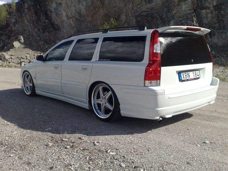 Volvo V70 R  Perfection.