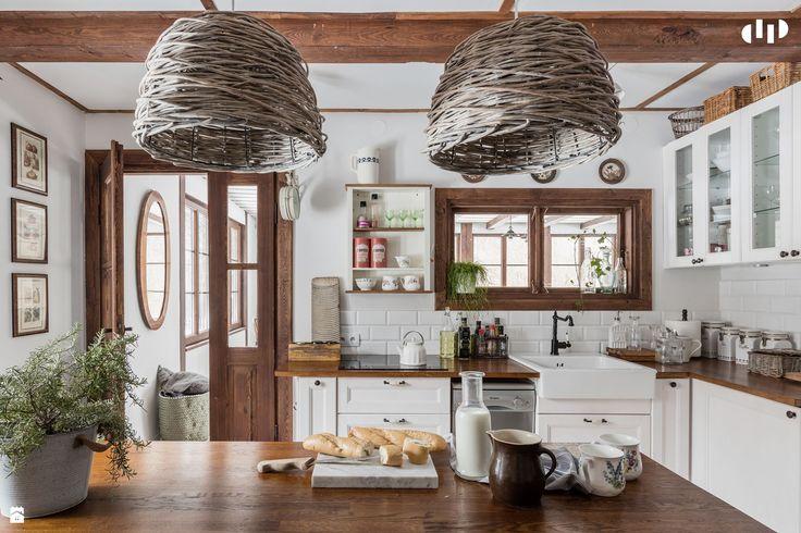 Kuchnia styl Vintage - zdjęcie od DZIURDZIAprojekt - Kuchnia - Styl Vintage…