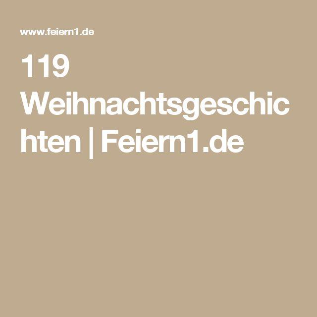 119 Weihnachtsgeschichten | Feiern1.de