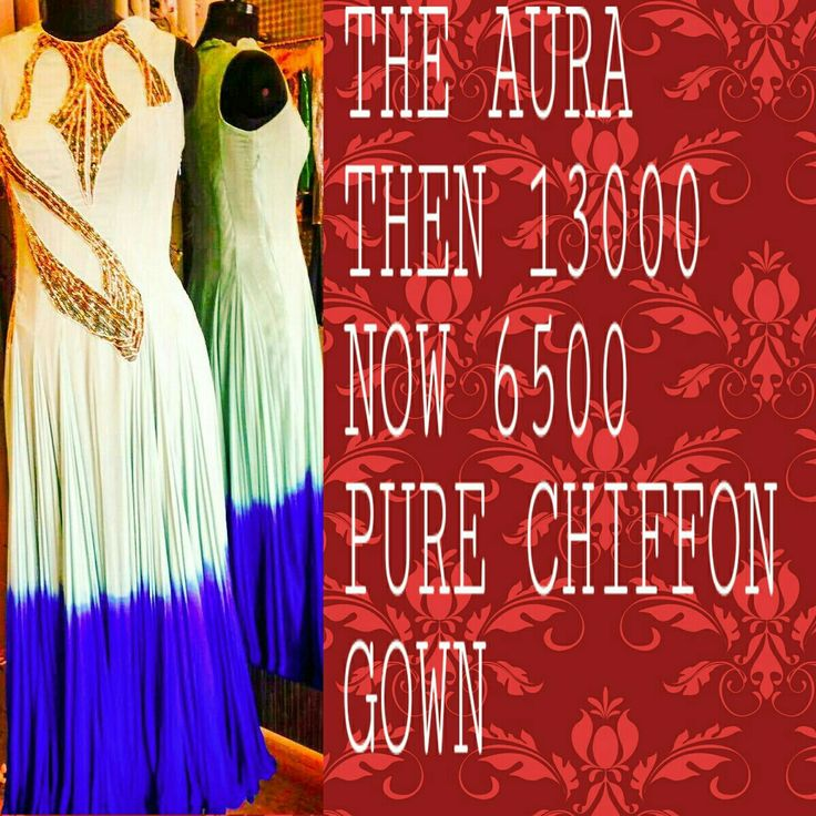 Deal of the Day #Classy #Stylish, #Gown #15Mtrz #FlairNOW UR WANTED #FABRICS  and #Dresses IN UR PRICE ,#GRAB A #BEST #DEAL Visit our studio  #discounts on our all READYMADES AND #Designers #Fabrics #TheAura  # NOIDA  nd INDIRAPURAM for Details call 9810789894 or watsapp 9971564924
