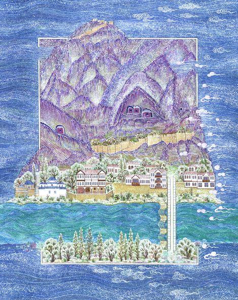 """""""Amasya, Turkey"""" by Gulcin Anmac."""