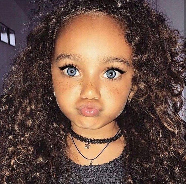 cute-mixed-black-girl