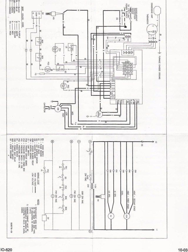 schematic  electrical diagram air handler diagram