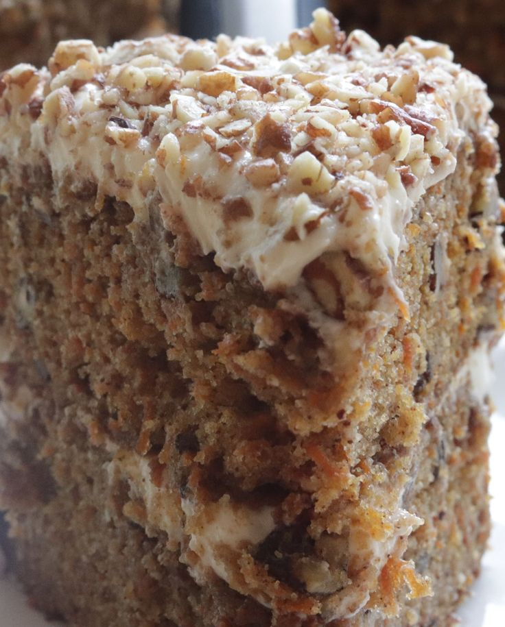 INSANELY DELICIOUS Carrot Cake!