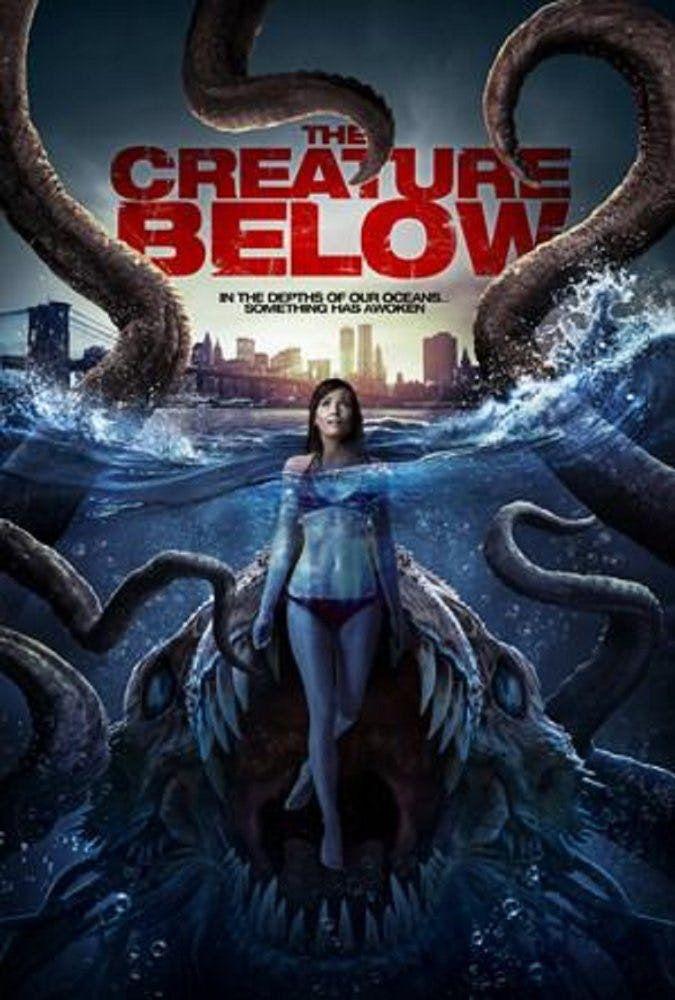 The Creature Below 2016 Dir Stewart Sparke Scary Movies Horror Movies Below Movie