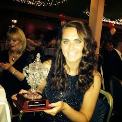 Sophie Tolchard, Bowling Sales Executive at TLH Leisure Resort in Torquay, wins Senior Sports Personality of the Year and Overall Sports Personality of the Year at the Torbay Sports Awards 2014.