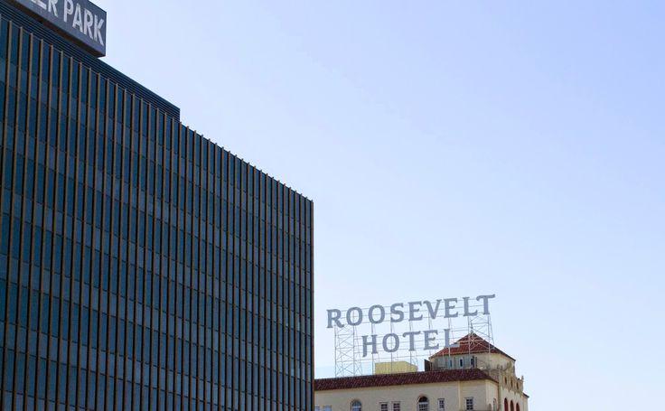BASIC BUCKET. #LA #RoosveltHotel #California