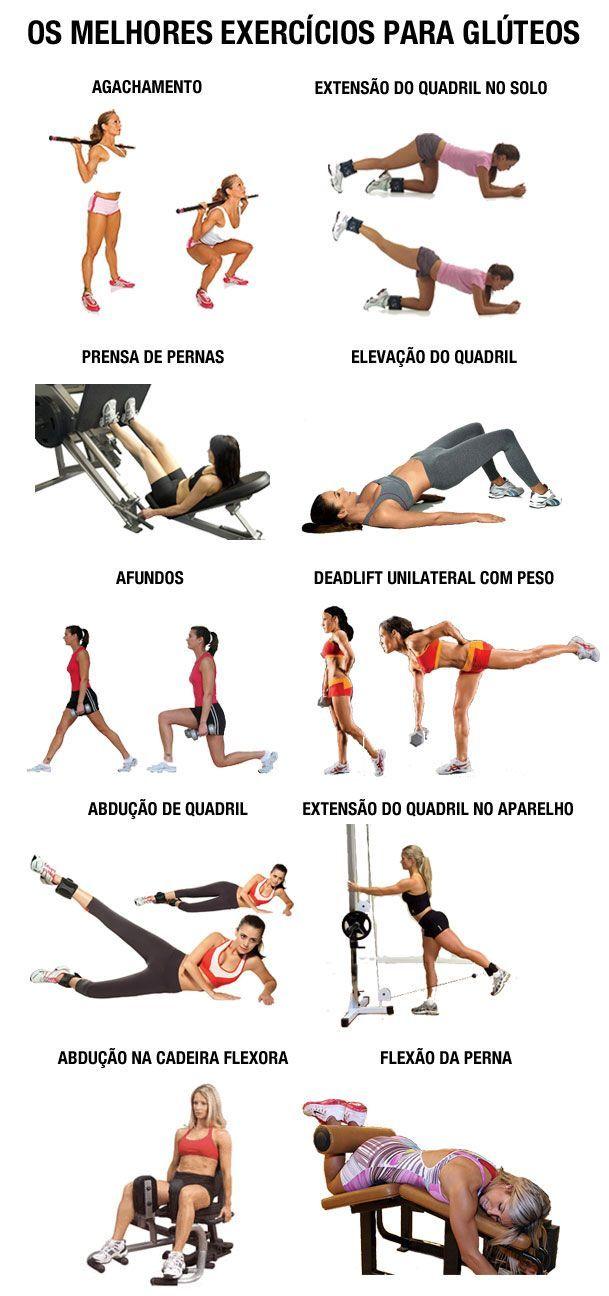 os melhores exercícios de musculação para treinar perna e glúteo