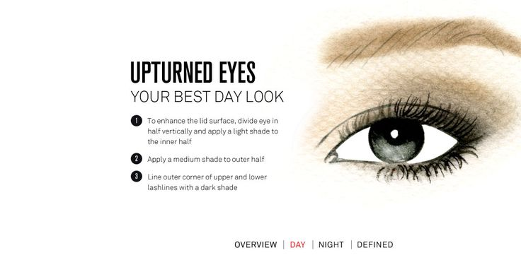upturned eyes: your best day look