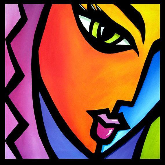 Il meglio in originale arte astratto, pop art, arte moderna, sculture e dipinti moderni. Dipinti di grandi dimensioni utilizzando colori vivaci e linee audaci che ti fanno sorridono.  Lavoro Commissione avrà 5-7 giorni per essere ricreato! * * *   Questo viene offerto come una Commissione, come mostrato. Si prega di essere sicuri di misurare il vostro spazio per essere sicuri che si adatta. Se avete bisogno di un più grande o una dimensione inferiore siete invitati a richiedere un pezzo…