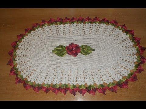 tapete flores costuradas e  leques