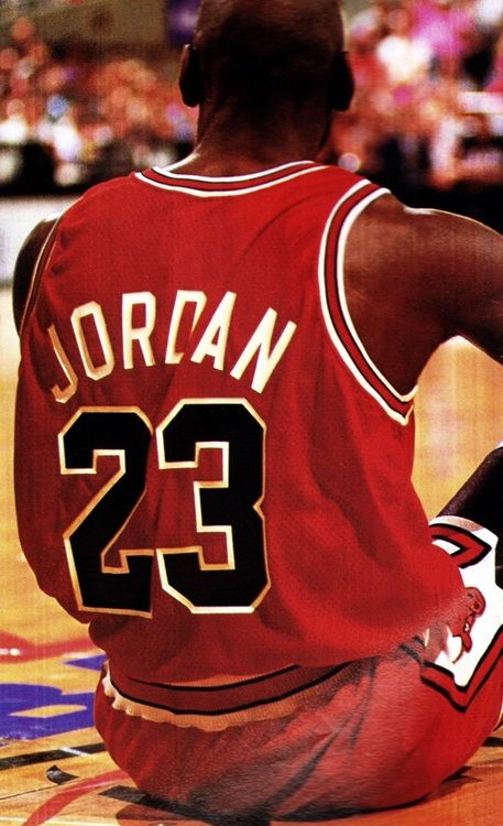 """Michael Jordan, the best player in the NBA ever. Without him, the """"brand"""" and its shoes would probably not exist."""