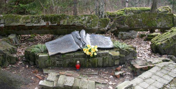 Von Stauffenberg Memorial at Wolf's Lair