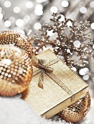 Christmas bling.