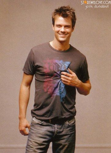 Josh Duhamel: How does that joke go? My favorite thing about Fergie is her husband...Oh Yeah!