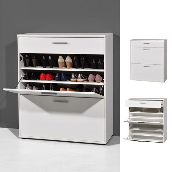 Bigfoot White Shoe Storage Solution Apartment Ideas In