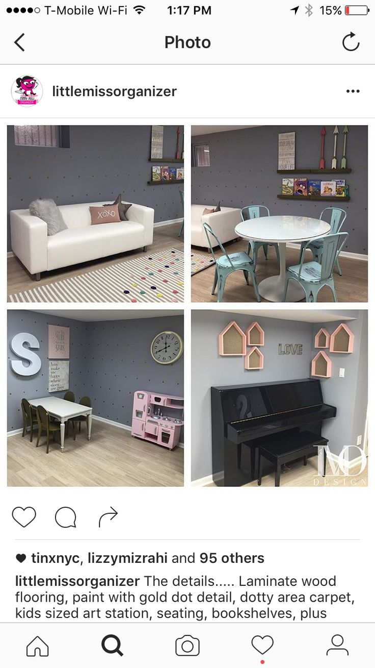 Playrooms, Basements