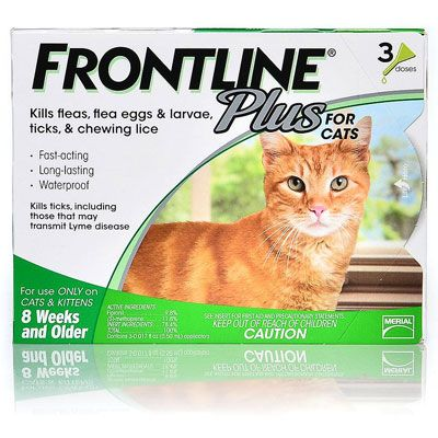 Cheap Frontline Plus for Cats - Frontline Plus Flea Control for Cats & Dogs