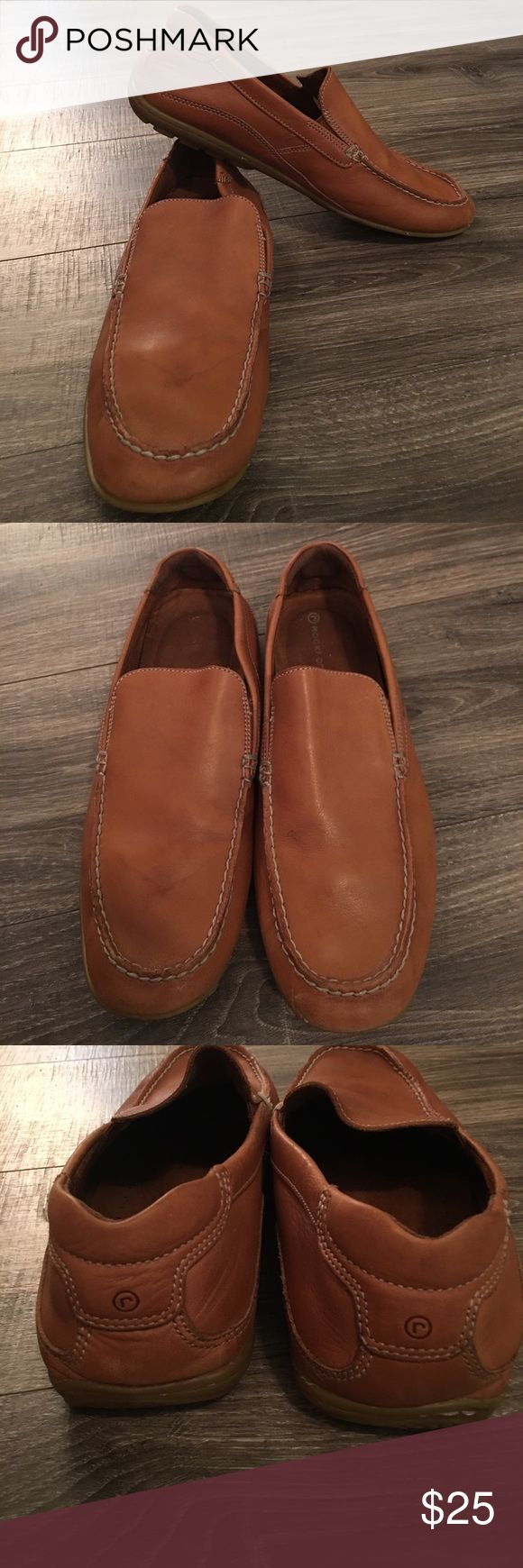 Leather Loafers Men's Leather Loafers- Rockport. Size 13. Excellent used condition. Soft leather. Rockport Shoes Loafers & Slip-Ons