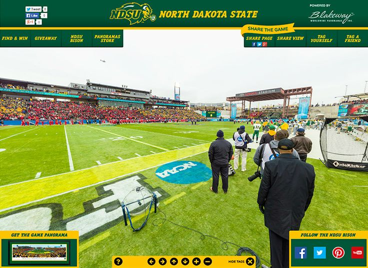 NDSU Bison 2015 FCS Championship Gigapixel | Blakeway Gigapixel http://gigapixel.panoramas.com/ndsu/football/20150110/ 360° Multi-Gigapixel fan photo of the FCS Championship game played to 19,802 fans at Toyota Stadium on January 10, 2015, featuring the match-up between the NDSU Bison & Illinois State Redbirds