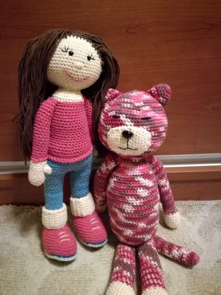 Panenka a kočička