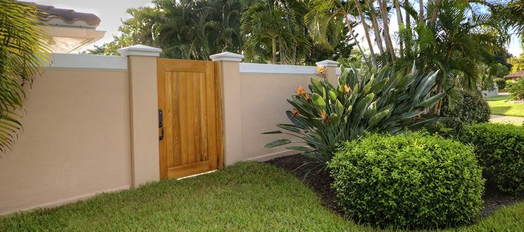 30 best images about garden walls and fences on pinterest