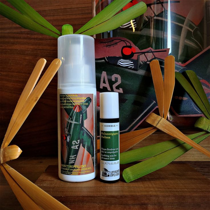Natural summer gear against insect bites! #korres #pharmacy