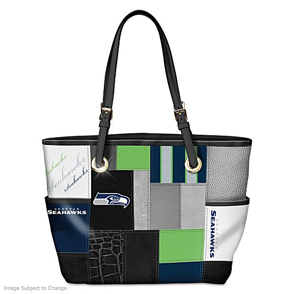 For The Love Of The Game Seattle Seahawks Tote Bag