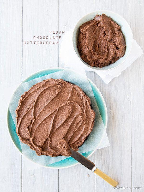 Vegan Chocolate Buttercream