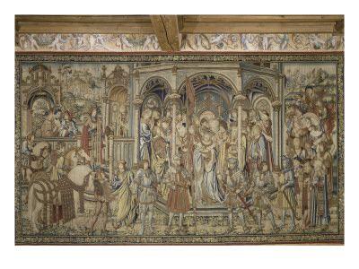 Tenture de l'histoire de David et Bethsabée - Musée national de la Renaissance (Ecouen)