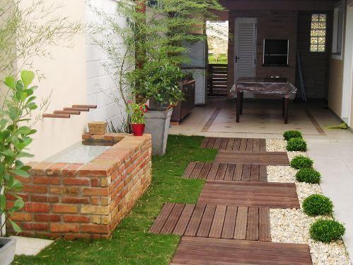 Resultado de imagem para decoração de jardim pequeno dentro de casa