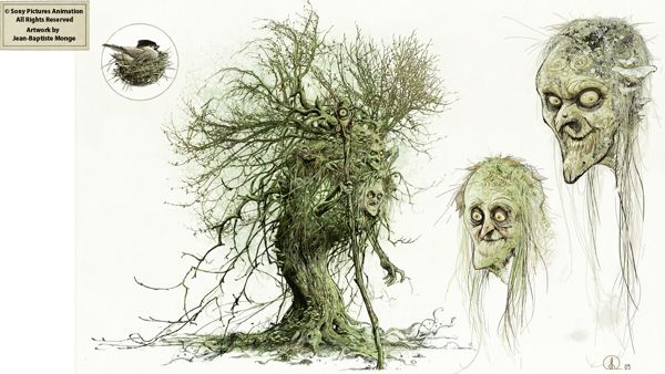 Sony Pictures Animation (2009) - The Witch by Jean-Baptiste Monge, via Behance
