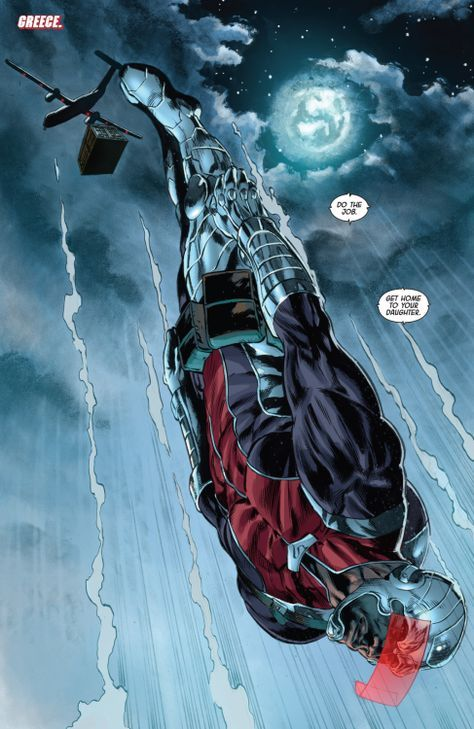 Comics and nothin' but — Deathlok v5 #7 (2015) art by Mike Perkins