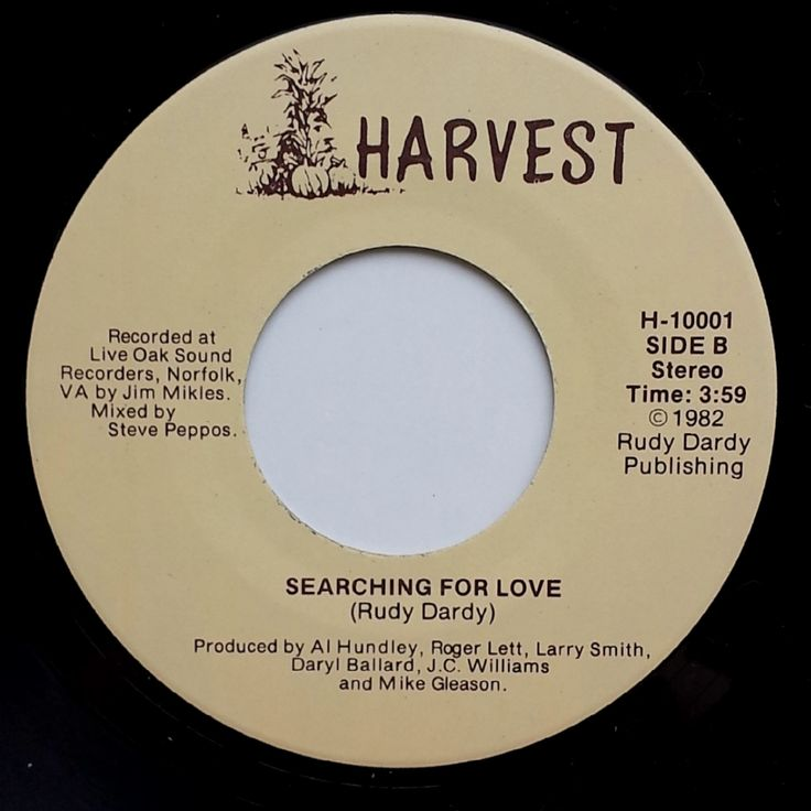 Great Modern Soul !!  Rudy Dardy / Searching For Love