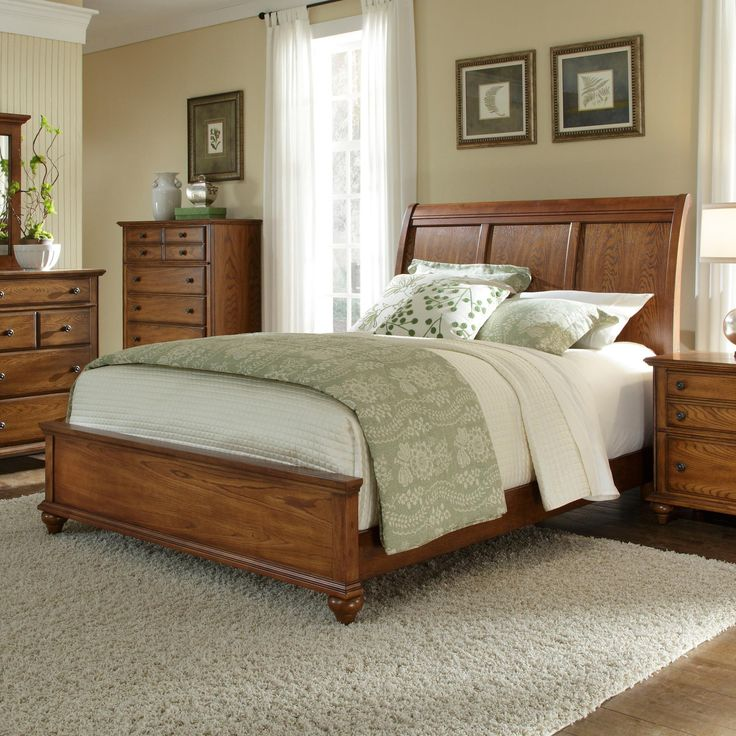 Hayden Place King Bed With Sleigh Headboard By Broyhill Furniture Furniture Pinterest