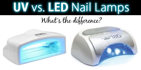Whats the difference between UV and LED nail lamps?