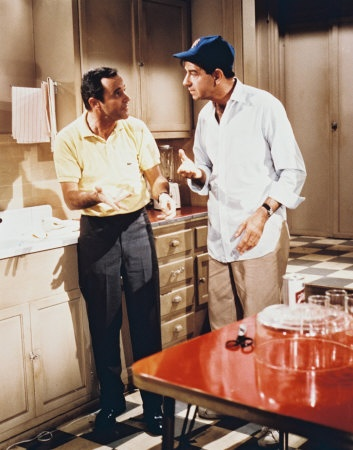Walter Matthau & Jack Lemmon in The Odd Couple.  One of the funniest films ever made I love it!