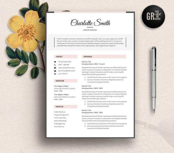 Resume Template | CV Template - 01 by GResume on @creativemarket