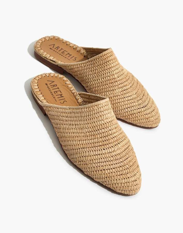 5875685e5 Artemis Design Co. Raffia Babouche Mules in 2019 | shoes | Shoes ...