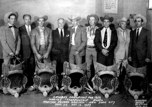 22 best images about bareback bronc ridings on pinterest - Bull riding madison square garden ...