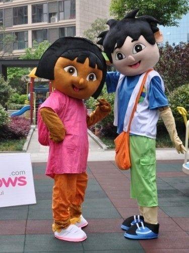 ドーラとディエゴ着ぐるみ 販売店 マスコット衣裳 http://www.mascotshows.jp/product/dora-and-diego.html